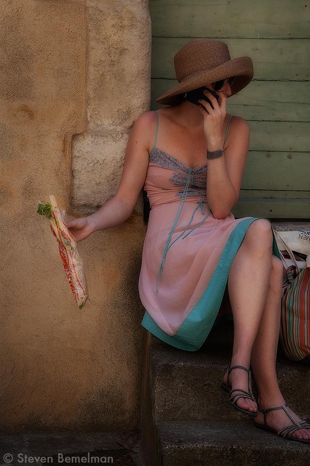 Girl, South of France
